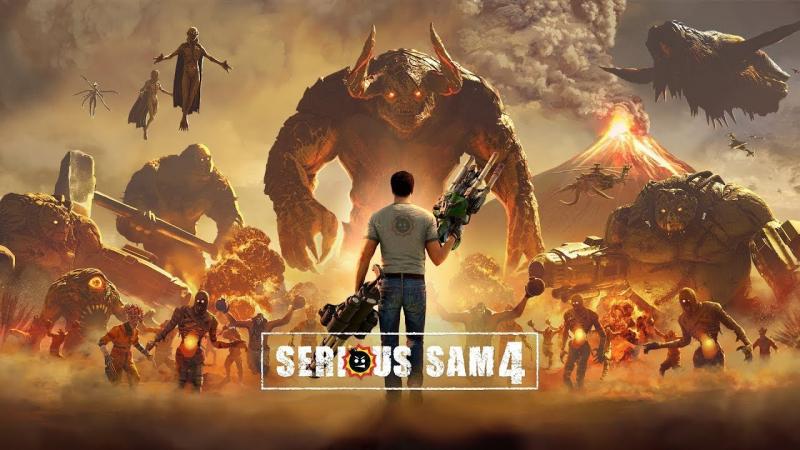 Új előzetesen a Serious Sam 4