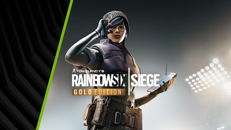 Vásárolj GeForce RTX™-szet, szerezd meg a Tom Clancy's Rainbow Six® Siege Gold Edition-t!