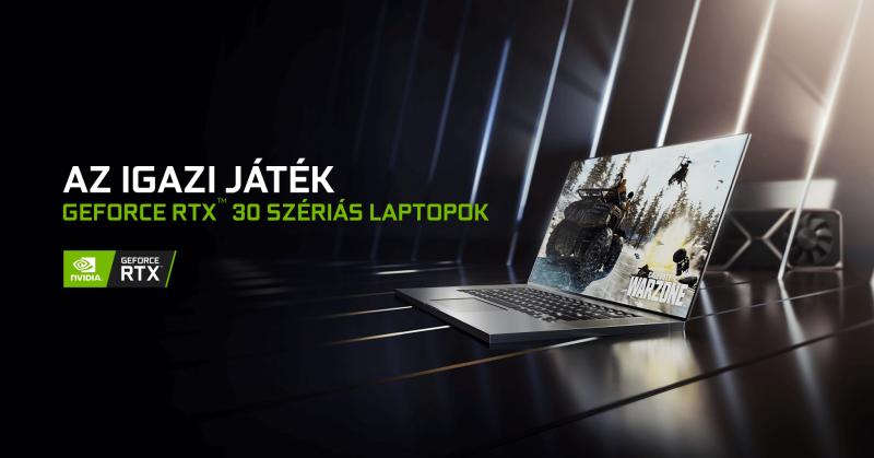 GEFORCE RTX™ 30 szériás laptopok