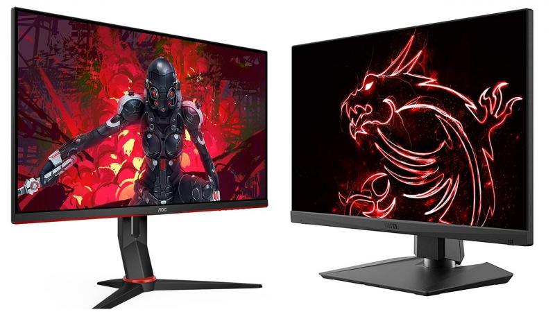 Gamer monitorok az AOC-től és az MSI-től