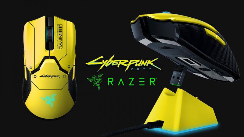 A Cyberpunk 2077 ihlette a Razer egerének külsejét