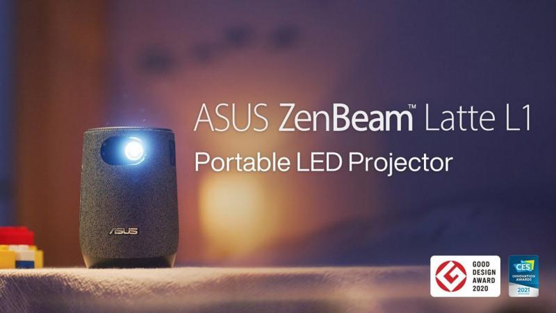 Kicsi és igen elegáns hordozható projektor az ASUS-tól