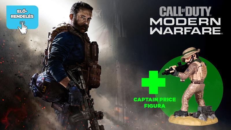 Az első 30 előrendelőnek Captain Price figurát adunk!