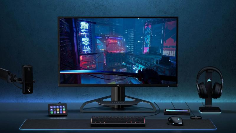 TV méretű gamer monitorral nyit a Corsair