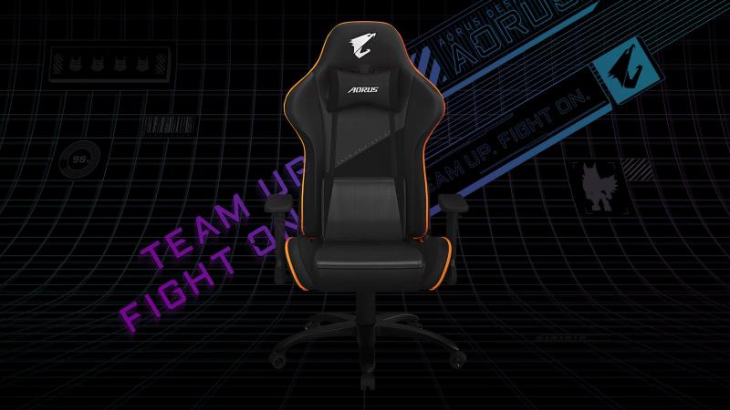 Bársonnyal vonta be új gamer székét a Gigabyte