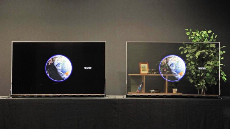 Új trend aligha lesz belőle – átlátszó OLED TV a Panasonictól
