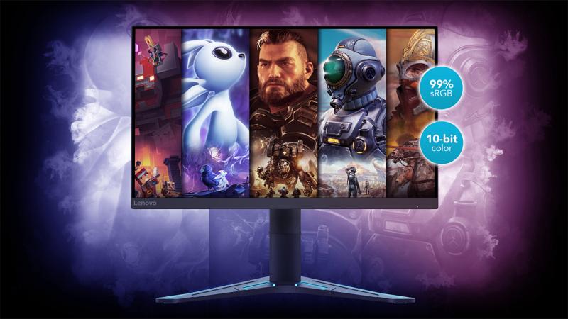 Két gamer monitorral rukkolt elő a Lenovo