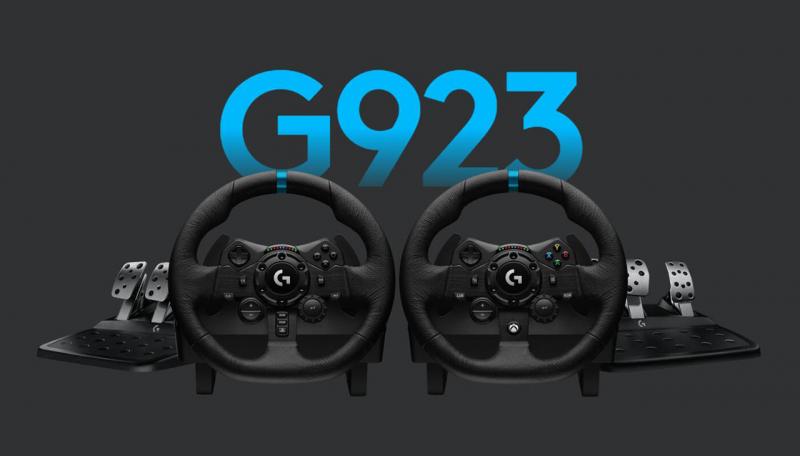 Logitech G923 Trueforce szimulátor- és versenykormány konzolokhoz és PC-hez