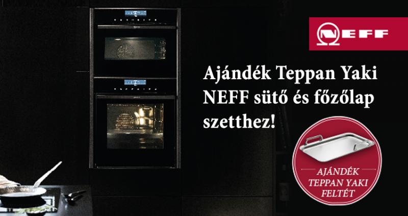 Ajándék Teppan Yaki feltét NEFF sütő és főzőlap szetthez