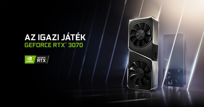 GeForce RTX™ 3070 - AZ IGAZI JÁTÉK