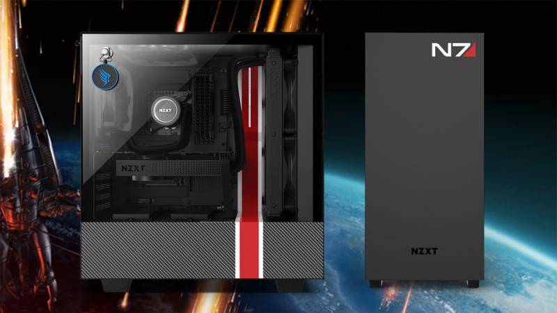 A Mass Effect ihlette az NZXT új házát
