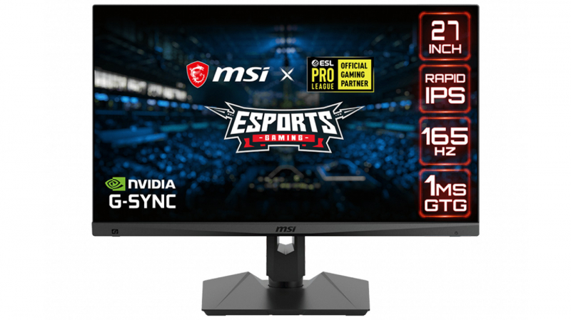 Közepesen gyors gamer monitorral jelentkezett az MSI